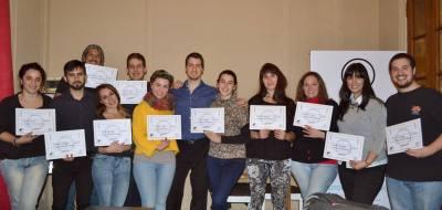 Entrega de Diplomas de Energias: Masculina y Femenina