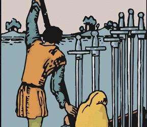 INFORME SEMANAL DE TAROT: 7/6, 6 de espadas
