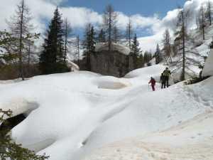 Ciaspolata intorno al Monte Pena