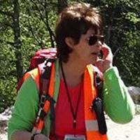 Giovanna Franceschini è guida, AIGAE , Associazione Italiana Guide Ambientali Escursionistiche