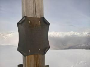 Croce di vetta del Corno Di Fana (2623m)