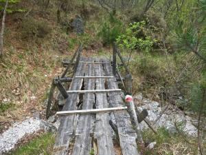 Ponticello sulla Val Di Saladen