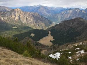 Conca dei Palughet, Pian Di Cajada, Col Dei Fus e Monte Zimon