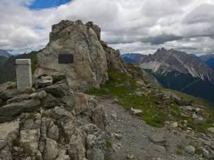 Fine del Sentiero Attrezzato D' Ambros