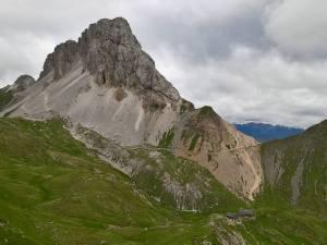 Il Monte Cavallino e il Rifugio Filmoor St. Sch. (2350m)