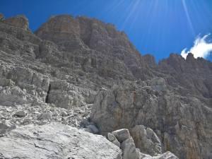 Cresta settentrionale della Cima Undici
