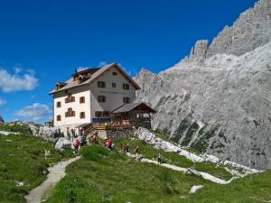 Rifugio Comici (2224m) in Bassa Val Fiscalina
