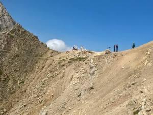 Arrivo al Passo Ombreta