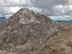 Diretti alla Cima Ombretta Orientale (3002 m)