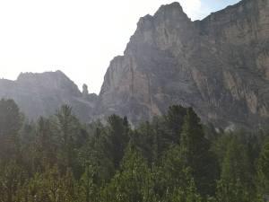 Forcella Dla Piza (2489 m) da Ovest