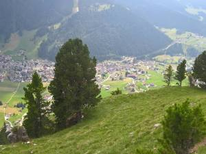 Panorama su Selva di Val Gardena