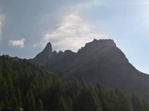Monte Chiadenis dalla Val Sesis
