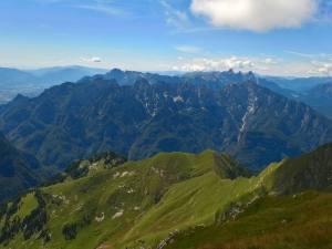 I Monti Del Sole, il Pizzocco e la Vallle Del Piave
