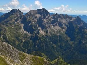 Il versante Nord della Schiara