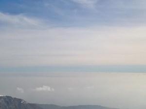 Pianura Veneta sotto la nebbia