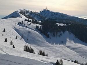 La lunga cresta del Nevegal e Col Visentin (1763m)