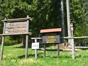 Osteria aperta nel Villaggio Cimbro di Vallorch