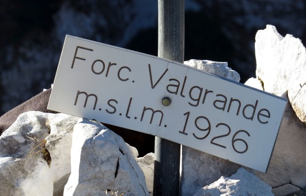Forcella Val Grande