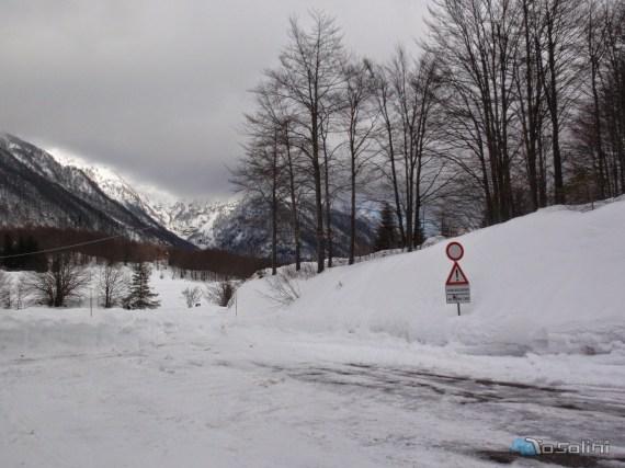 Punto di parcheggio (foto di Stefano Peressin)