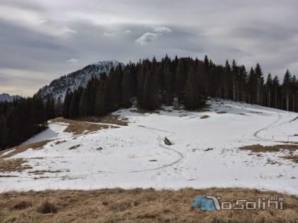 In discesa da Monte Glazzat (foto di Roberto Pagurut)