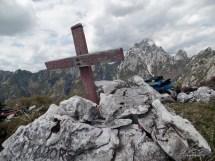 Monte Cimadors, croce di vetta.