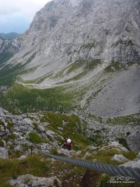 vista verso la valle italiana