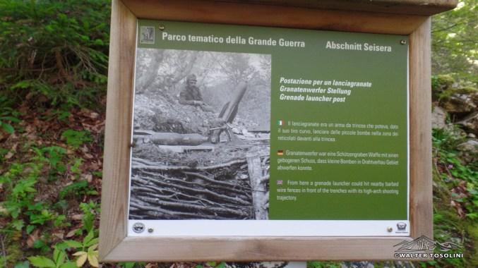 Val Saisera Parco Tematico Grande Guerra
