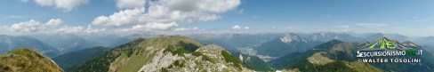 Monte Arvenis panoramica