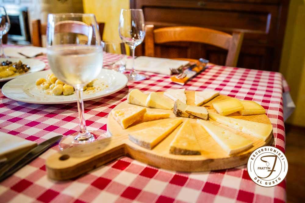 Il formaggio d'alpeggio sulla tavola delle feste
