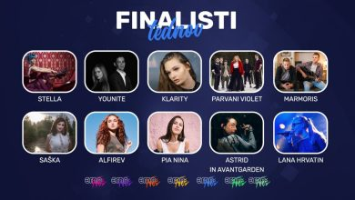 Photo of 🇸🇮 Slovenia: 10 finalists of EMA FREŠ revealed