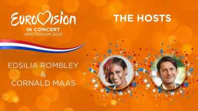 Photo of Cornald Maas and Edsilia Rombley to host Eurovision in Concert 2020