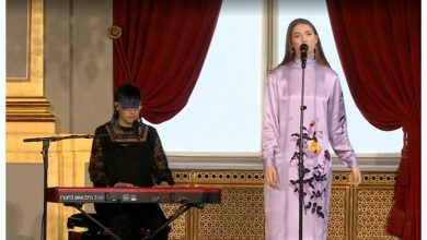 Photo of Blanche performs at Elisabeth of Belgium's birthday