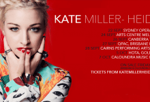 Photo of Kate Miller-Heidke will be touring Australia