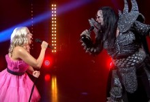"Photo of 🇫🇮 WATCH: Krista Siegfrids & Lordi cover ""Diva"" and Erika Vikman gives special version of ""Cicciolina"""