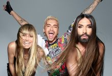 "Photo of Conchita Wurst started filming for the new TV show ""Queen Of Drags"" together with Heidi Klum and Bill Kaulitz"