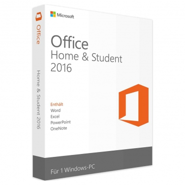 Microsoft Office 2016 Home & Student Produktschlüssel Key Download...