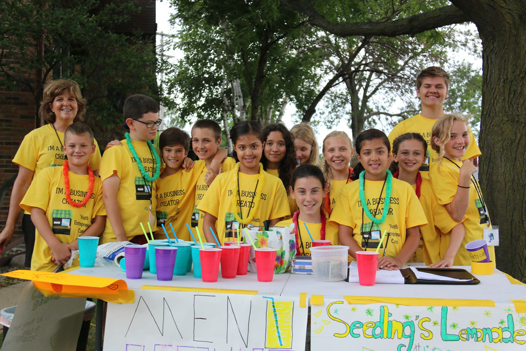 Youth entrepreneurs learn the value of community and teamwork with eseedling