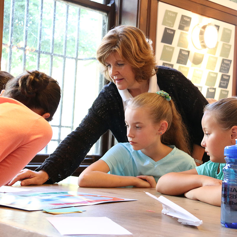 Julie Wood of eseedling teaches young people valuable business skills