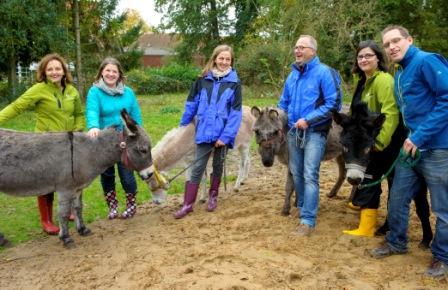 Führungskräfte-Workshop mit Eseln