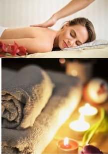 Massages with essential oils