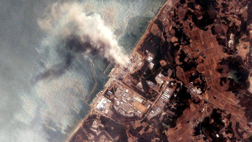 Milhões de litros de água radiotava de Fukushima serão despejadas no mar.
