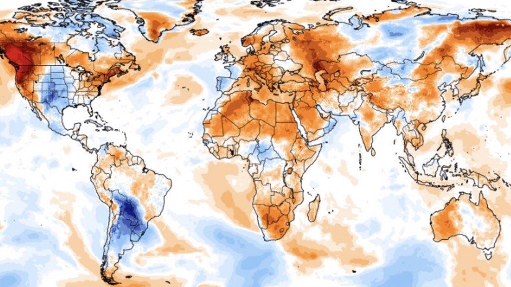 Forte onda de frio polar atinge America do Sul