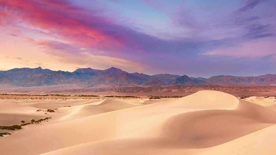 Vale da Morte atinge 54 graus, quase quebrando o recorde de calor.