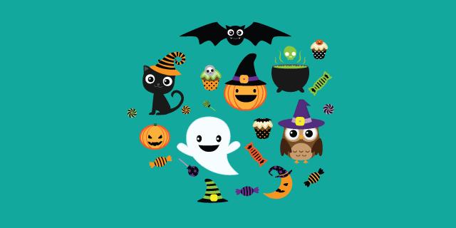Imagen post ideas para Halloween