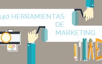 Imagen post sobre herramientas de marketing online