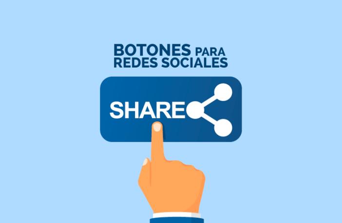 Imagen botones redes sociales