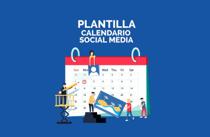 Imagen calendario social media