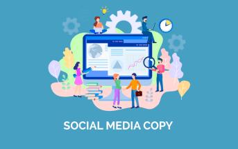 Imagen post copy para redes sociales