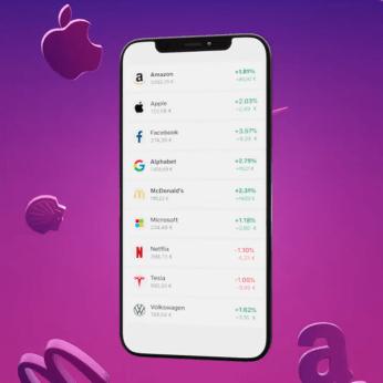 Bitpanda - App comprar acciones y criptomonedas