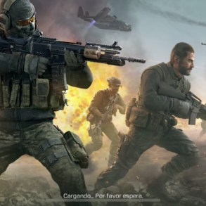 Pantalla de carga de Call of Duty Mobile para iPhone